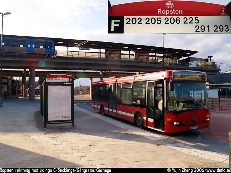 bussar på lidingö
